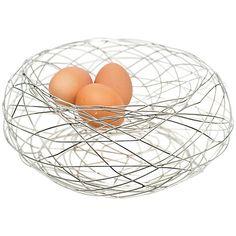 Buy Bliss In The Woods Bird Nest Egg Basket Online at johnlewis.com