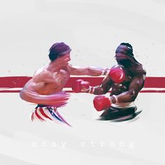 #rocky #strong #boxing #paint