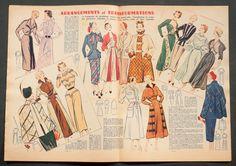 'VOTRE MODE' FRENCH VINTAGE NEWSPAPER 29 DECEMBER 1949 | eBay