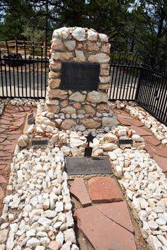 Buffalo Bill's grave on Lookout Mountain, Colorado
