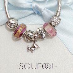 soufeel 925 sterling silver charms bracelet www.soufeel.com