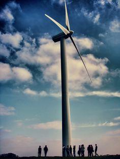 Cool shot of a wind turbine #photograph #windpower #energy