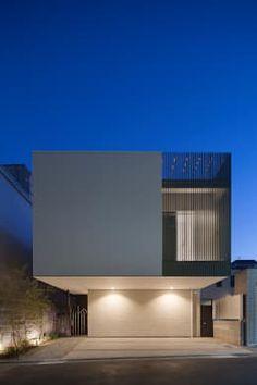 根來宏典建築研究所의 주택