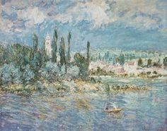 Vétheuil (C Monet - W 607),1880.