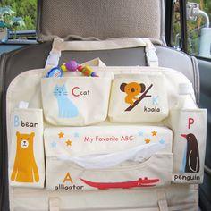 My Sweet Muffin - Animal ABC Car Organizer