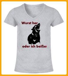 Wurst her oder ich beie - Shirts für frau mit herz (*Partner-Link)