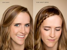 15 ways to pin back bangs by hair and makeup by steph