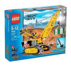 Amazon.com: LEGO City Crawler Crane (7632): Toys & Games