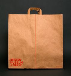 design museum london identity - shopping bag by spin  designboom | architecture & design magazine