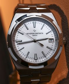"""Vacheron Constantin Overseas 'Simple Date' Watch Hands-On - hands-on video, full photo gallery on aBlogtoWatch """"SIHH 2016 sees the welcome release of a totally fresh and updated Vacheron Constantin Overseas watch collection - something I have been awaiting with baited anticipation for quite some time. Originally devised by watch designer Jorg Hysek, the Overseas 'luxury sport watch collection' was always Vacheron Constantin's answer to the Audemars Piguet Royal Oak..."""" #SIHHABTW"""