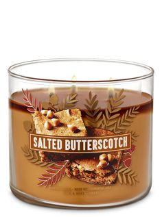 Bath & Body Works just released its fall 2019 candle collection. The candles come in a variety of autumnal scents, including pumpkin, apple, and snickerdoodle. Bath Candles, 3 Wick Candles, Scented Candles, Bath N Body Works, Bath And Body, Best Smelling Candles, Fall Scents, Aromatherapy Candles, Sweet And Salty