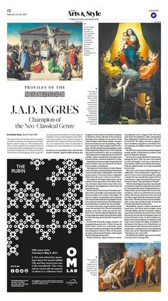 J.A.D. Ingres: Champion of the Neo-Classical Genre|Epoch Times #Painting #Master #History #newspaper #editorialdesign
