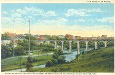 Niagara Region, St Catharines, Historical Photos, Cement, Murals, Ontario, Two By Two, Bridge, Canada