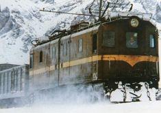 Railroading through the snow in Chile Mendoza, Journey, Snow, History, Nostalgia, Electric, Trains, Fantasy Landscape, Scenery