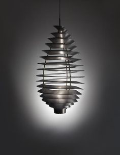 POUL HENNINGSEN, SPIRAL ceiling light, manufactured by Louis Poulsen in 1942