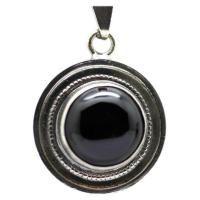 #AMULETO #Tetragramaton Signos Zodiacales con #Obsidiana 2.5 cm aprox...