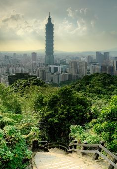 Taipei Cityscape, Taiwan #taipei can't wait to take my husband to Taiwan!!! (my mother's homeland)!