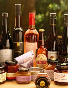 Local Mornington Peninsula Produce Wine Food, Food And Drink, Wine Recipes, Ale, Fancy, Canning, Fruit, Drinks, Bottle