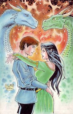 How 'Inheritance' SHOULD Have Ended (Eragon+Arya) by VMIFerrari@deviantART
