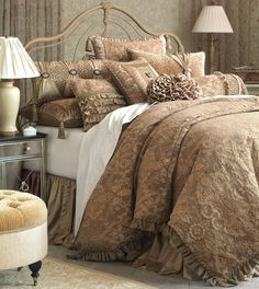 Marquise - Luxury Bedding Collections, Custom Bedding, Bed Linens - Sonia Collection
