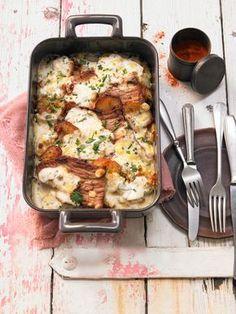 Bratkartoffelauflauf mit Schnitzel, ein sehr leckeres Rezept aus der Kategorie Kartoffeln. Bewertungen: 50. Durchschnitt: Ø 4,2.