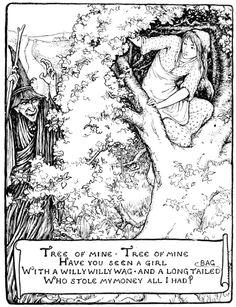 Art by John D. Batten (1894) from MORE ENGLISH FAIRY TALES.