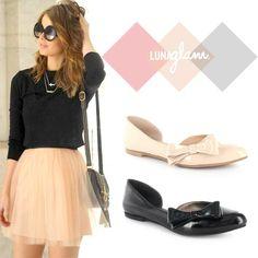 ¡Hoy es sábado y el cuerpo lo sabe! Chequen este #LookLuna para que su fin sea inolvidable y muy chic. #Zapatos #LunaGlam