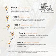 Fases de El Mejor Rincón 2015