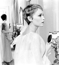 Mia Farrow photographed by Bill Eppridge, 1967