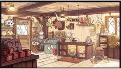 Mais artes do seriado Gravity Falls, do Disney Channel | THECAB - The Concept Art Blog