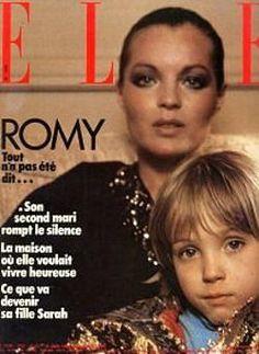 Romy Schneider - Elle Magazine [France] (14 June 1982)