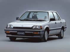Old-school Honda Civic