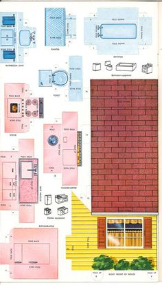 1 million+ Stunning Free Images to Use Anywhere Doll House Crafts, Paper Doll House, Barbie Doll House, Paper Houses, Doll Crafts, Paper Furniture, Doll Furniture, Dollhouse Furniture, Miniature Furniture