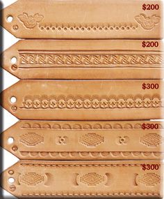 Billedresultat for free leather tooling patterns Leather Belts, Leather Tooling, Leather Jewelry, Leather Craft Tools, Leather Projects, Crea Cuir, Leather Working Patterns, Essential Oil Jewelry, Leather Stamps