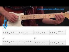 Beginning Blues Guitar Lesson - Blues Guitar Level 1 - YouTube