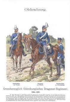 Band XVI #44.- Großherzogl. Oldenburgisches Drag. Rgt. 1864-67.