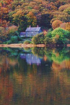 Tal-y-llyn Lake, Gwynedd, Wales
