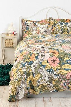 urban outfitters animal forest duvet