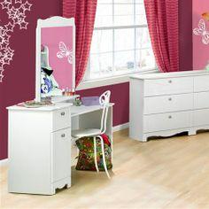 Dixie Bedroom Vanity Table - Bedroom Vanity Tables at Hayneedle