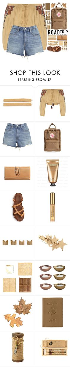 """""Summer Road Trip Essentials"" - Contest"" by arierrefatir ❤ liked on Polyvore featuring Tasha, All That Remains, T By Alexander Wang, Fjällräven, Estée Lauder, Maison Margiela, House Doctor, Royce Leather and Truly Aesthetic"