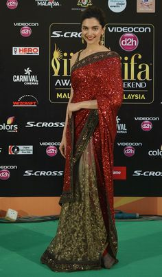 Deepika Padukone | Here's What Bollywood's Leading Ladies Wore To IIFA