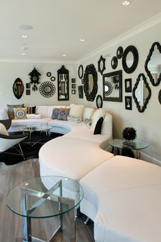 {Seating/Art Wall} Mercy Ministries Home Vancouver. Designed by Danica Goward of WallFlower Interior Design Boutique
