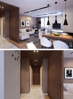 Квартира из натуральных материалов на Богатырском - Галерея 3ddd.ru