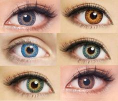 Colored contacts for dark brown eyes - image source- Eyecandys Contact Lenses For Brown Eyes, Natural Contact Lenses, Cosmetic Contact Lenses, Eye Contact Lenses, Coloured Contact Lenses, Pretty Eyes, Beautiful Eyes, Best Colored Contacts, Color Contacts