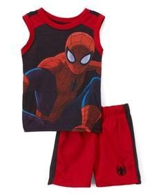 Spiderman Batman Toddlers 3pc Tank TMNT Shirt /& Shorts Set Captain America