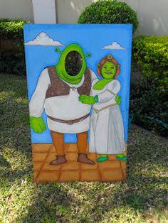 GLITTERING GATHERINGS: SHREK & FIONA PARTY!
