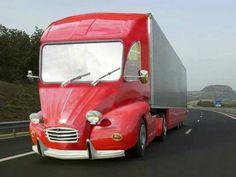 .d'où l'expression beau comme un camion !!!