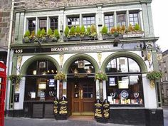 Deacon Brodies Tavern - Edinburgh, Scotland. Yummy food and the best sticky toffee pudding!