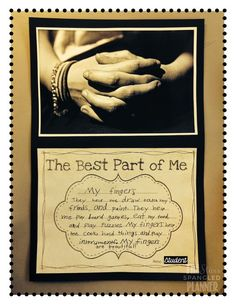 End of the Year Favorites:the best part of me project