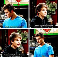 Girl Meets Rileytown - I love how Farkle's growing up nicely, but still once in a while you see the goofy kid inside.